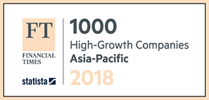 FT 1000 High-Glowth Companies Asia-Pasific 2018
